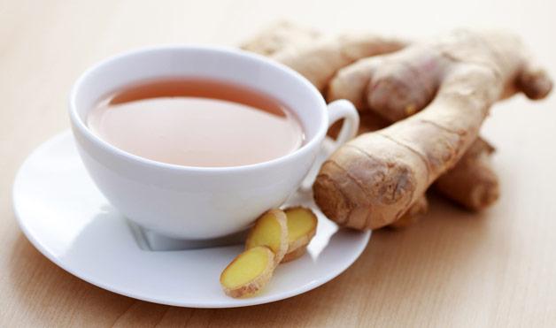 imbierine arbata