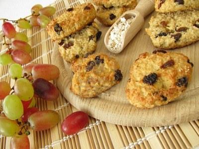 vaisiniai sausainiai